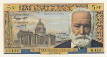 France 5 NF Victor Hugo - 06-05-1965 Serial K.143  - XF