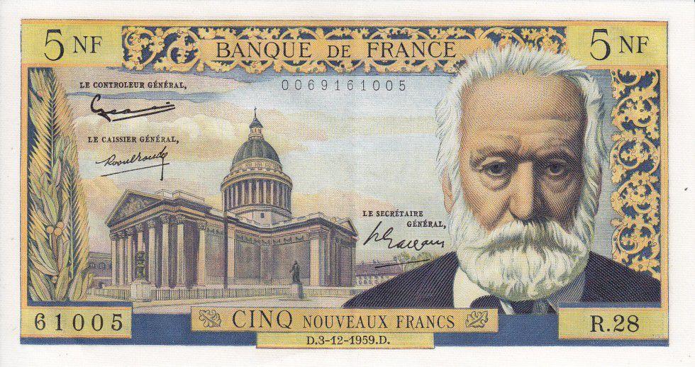 France 5 NF Victor Hugo - 1959