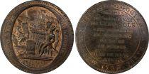 France 5 Sols, Constitution - Monneron 1792 - PCGS MS 63+ BN MZ 145