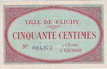France 50 cent. Clichy