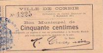 France 50 cent. Corbie