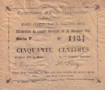 France 50 cent. Evin-Malmaison