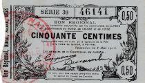 France 50 cent. Fourmies - 08/05/1916