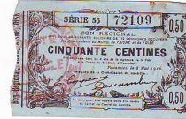 France 50 cent. Fourmies