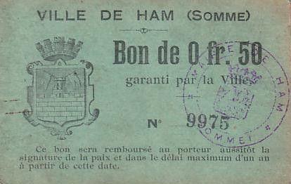 France 50 cent. Ham