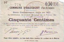 France 50 cent. Haucourt