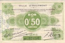 France 50 cent. Hautmont