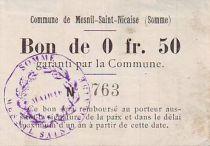 France 50 cent. Mesnil-Saint-Nicaise