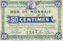 France 50 cent. Roubaix-Tourcoing Sans date