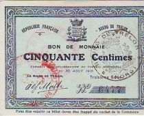 France 50 cent. Trélon