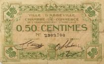 France 50 Centimes - Abbeville Chamber of Commerce - VG to F