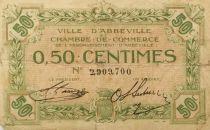 France 50 Centimes - Chambre de Commerce d\'Abbeville - PTB