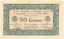 France 50 Centimes - Chambre de Commerce d\'Alençon et Flers - SUP