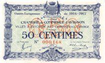 France 50 Centimes - Chambre de Commerce d\'Avignon 1917 - P.NEUF