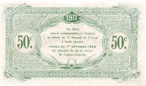 France 50 Centimes - Chambre de Commerce d\'Eure-et-Loir 1917 - SPL