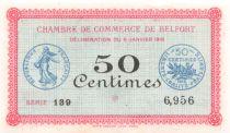 France 50 Centimes - Chambre de Commerce de Belfort 1916 - P.NEUF