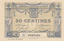 France 50 Centimes - Chambre de Commerce de Calais - P.NEUF