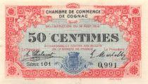 France 50 Centimes - Chambre de Commerce de Cognac 1916 - SPL