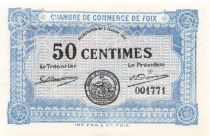 France 50 Centimes - Chambre de Commerce de Foix 1915 - P.NEUF