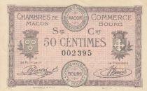 France 50 Centimes - Chambre de Commerce de Mâcon 1915 - P.NEUF