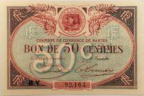France 50 Centimes - Chambre de Commerce de Nantes - TTB