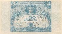 France 50 Centimes - Chambre de Commerce de Nîmes 1915 - SUP+