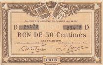 France 50 Centimes - Chambre de Commerce de Quimper et Brest 1918 - P.NEUF