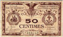 France 50 Centimes - Chambre de Commerce de Saint Brieuc ND (1914-1918) - TTB
