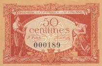 France 50 Centimes - Chambre de Commerce de Saint-Etienne 1921 - SUP+