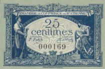 France 50 Centimes - Chambre de Commerce de Saint-Etienne 1921 - SUP+