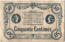 France 50 Centimes - Chambre de Commerce de Troyes Remb. 1921 -  TTB+