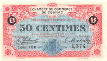 France 50 Centimes - Cognac Chamber of Commerce 1917 - aUNC