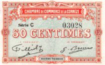 France 50 Centimes - Corrèze Chamber of Commerce - aUNC