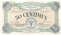 France 50 Centimes - Eure-et-Loir Chamber of Commerce 1917 - AU