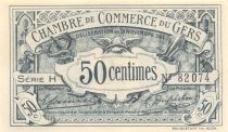 France 50 Centimes - Gers Chamber of Commerce 1914 - aUNC