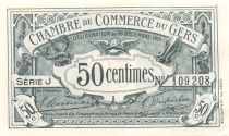 France 50 Centimes - Gers Chamber of Commerce 1916 - aUNC