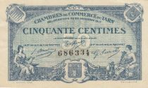 France 50 Centimes - Tarn Chambers of Commerce 1917 - XF