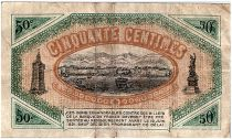 France 50 Centimes - Toulon Chamber of Commerce 1916 - VF