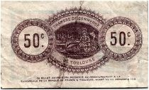 France 50 Centimes - Toulouse Chamber of Commerce 1914 - VF