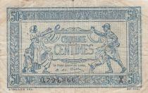 France 50 Centimes - Trésorerie aux armées  - 1919 Série X - TB
