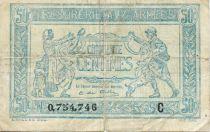 France 50 Centimes - Trésorerie aux armées -1919 Série C - TB