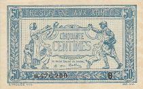 France 50 Centimes  Trésorerie aux armées  - 1917 B 0.476.260
