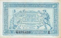 France 50 Centimes  Trésorerie aux armées  - 1917 E 0.378.429