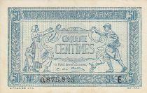 France 50 Centimes  Trésorerie aux armées  - 1917 E 0.875.825