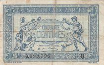 France 50 Centimes  Trésorerie aux armées  - 1919 U 0.290.796