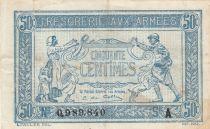 France 50 Centimes 1915 - Trésorerie aux armées - Série A