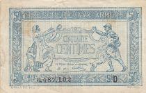 France 50 Centimes 1915 - Trésorerie aux armées - Série D