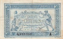 France 50 Centimes 1915 - WWI issue - Serial A