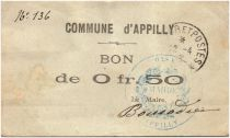 France 50 Centimes Appilly City