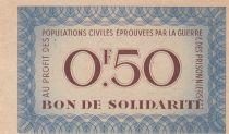 France 50 Centimes Bon de Solidarité - Pétain - 1941-1942 - P.Neuf